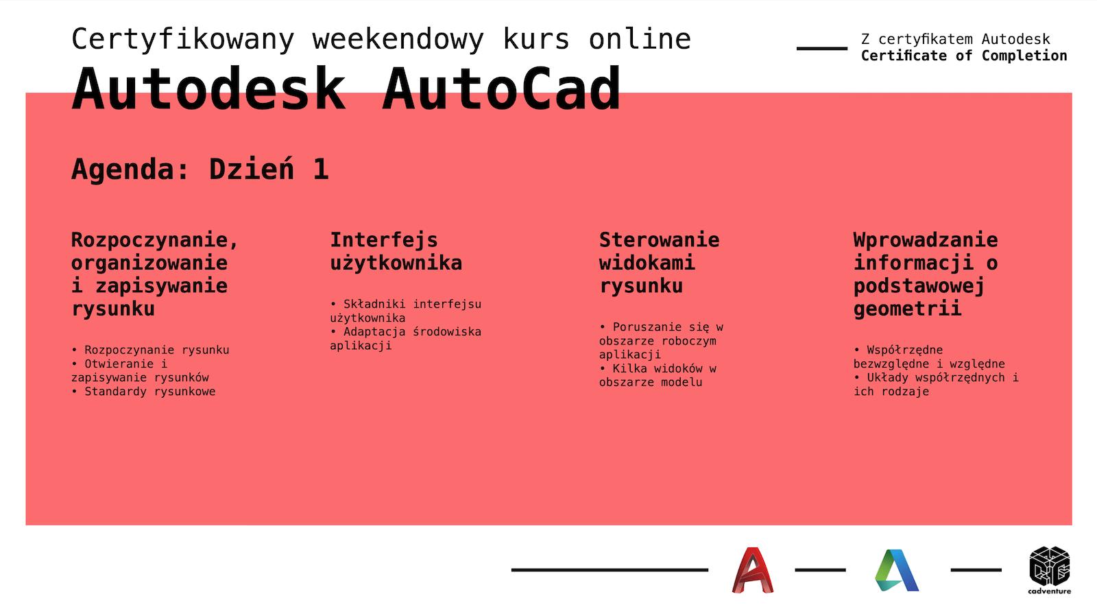 cadventure.pl - autocad - kurs - 3