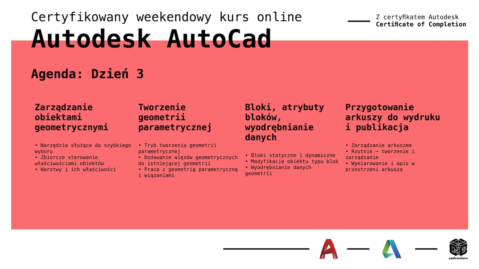 cadventure.pl - autocad - kurs - 5