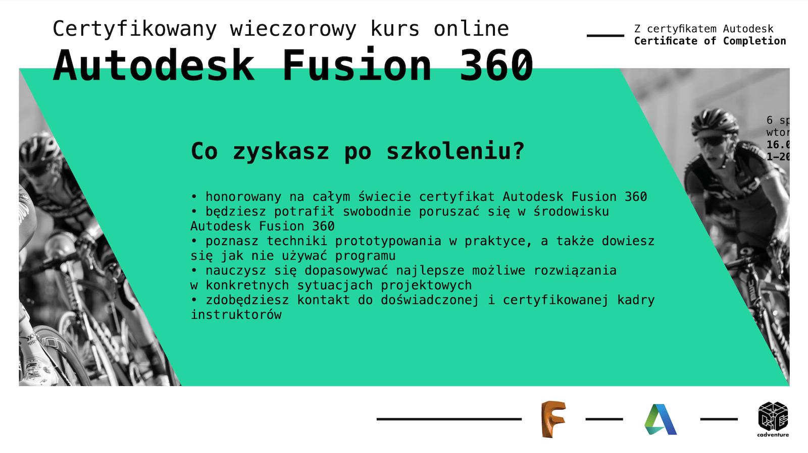 cadventure.pl - fusion360 - kurs - 2
