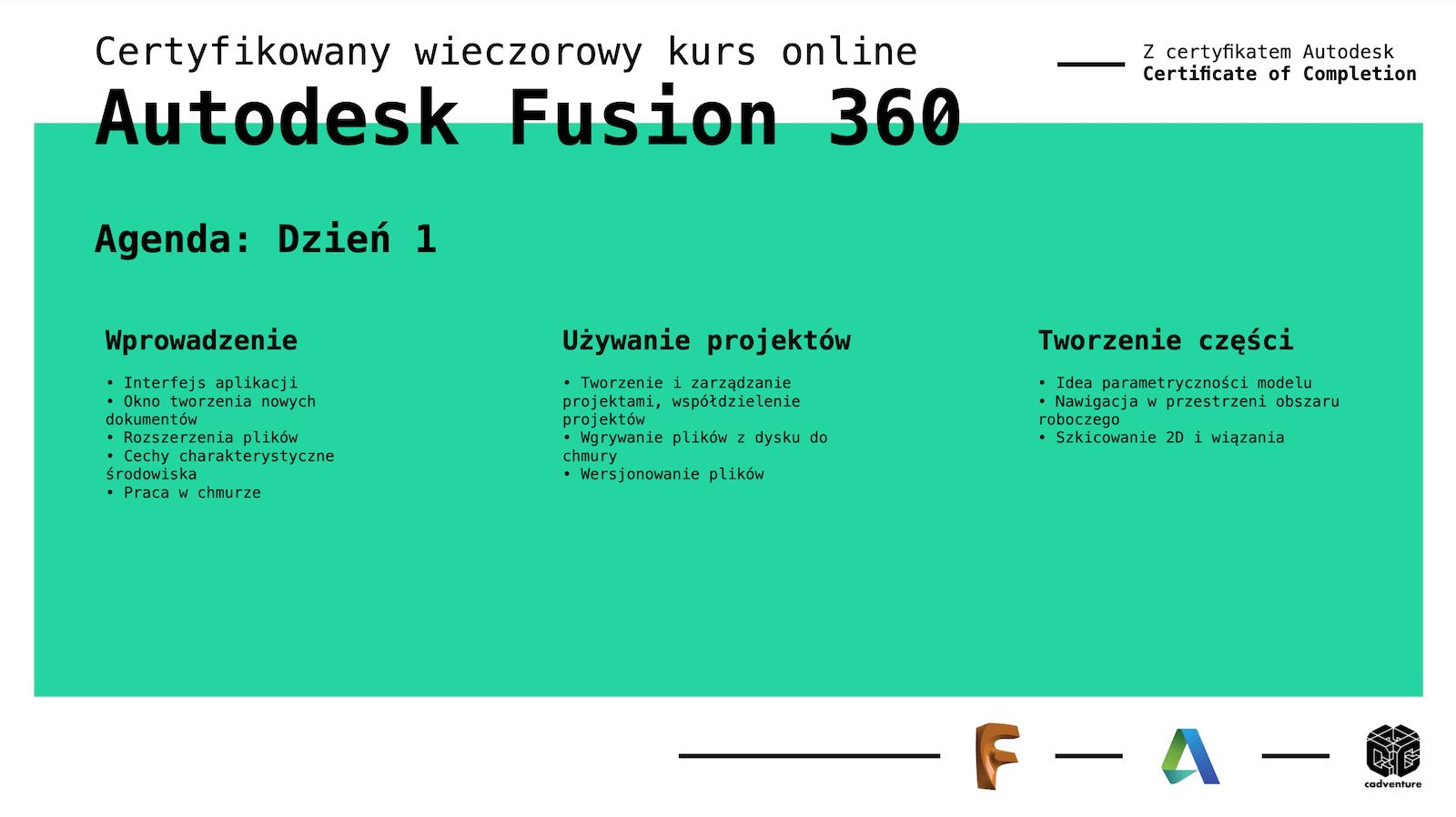 cadventure.pl - fusion360 - kurs - 3