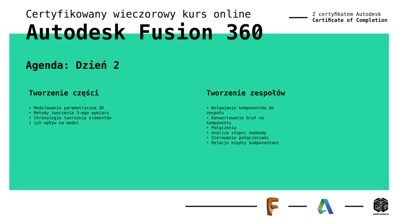 cadventure.pl - fusion360 - kurs - 4