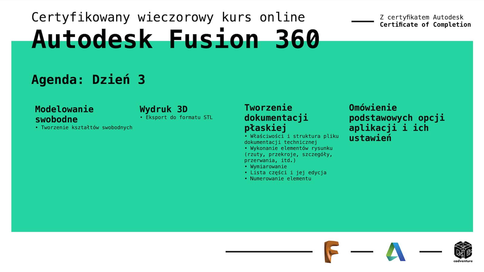cadventure.pl - fusion360 - kurs - 5