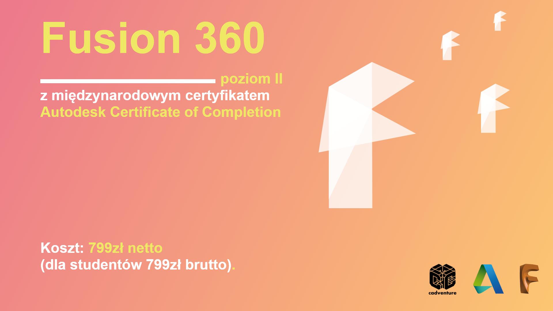 Fusion 360 II